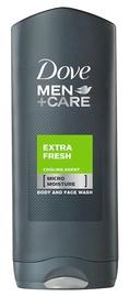 "Dušo želė ""Dove"" Extra Fresh, vyrams, 400 ml"