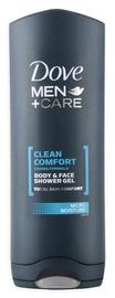 "Dušo želė ""Dove"" Clean Comfort, vyrams, 400 ml"