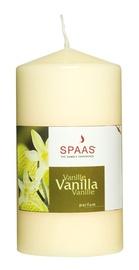 Lõhnaküünal Spaas, vanilje, d8x8x15 cm