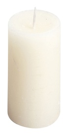 Žvakė, 1 vnt., dramblio kaulo spalvos, 5x5x8 cm