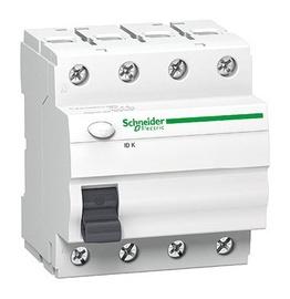 Nuotėkio relė Schneider Electric IIDK, 4 P, 25 A, 30 MA, A9Z05425