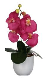Dirbtinė gėlė orchidėja, 34 cm