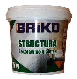Dekoravimo glaistas Briko Structura, 1,5 kg