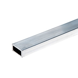 Nelikanttoru 10 x 20 x 1,5 mm, alumiinium 2 m