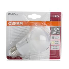 SPULDZE LED OSRAM SCLA60 827 FR E27