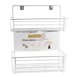 """Tvirtinamoji vonios lentynėlė """"Sanwood"""" 9345200, 2 dalių"""