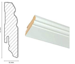 Grindjuostė FOF A015, 2400mm x 18mm x 70mm