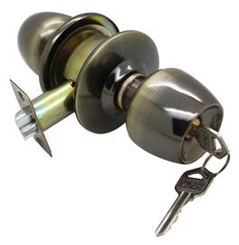 Burbulinė spyna Futura 5831 PB, su 2 raktais, poliruoto žalvario spalvos
