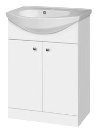Vonios spintelė SA60D su praustuvu Riva60D