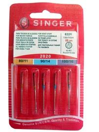 Siuvimo mašinų adatos Singer 822R, 5 vnt.