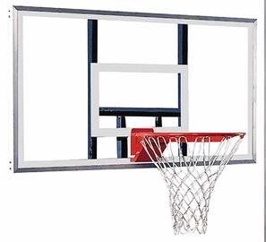 Basketbola grozs ar rāmi, rūdīts stikls