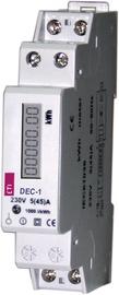 Modulinis elektros skaitiklis Eti, 1 fazės, DEC-1