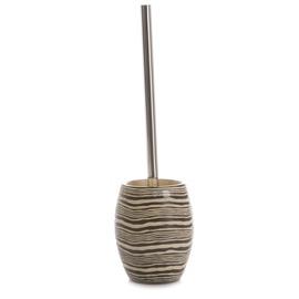 Tualetes poda birste Futura BPO-0375F, 11,5x11,5x37,5cm, brūna