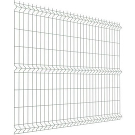 Segmentinė tvora, žalia, 2500 x 1530 mm, 5 mm