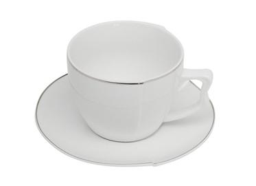 6 puodelių komplektas su lėkštutėmis Apelia, 220 ml