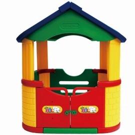Žaislinis sudedamas namas 100x124x100 cm