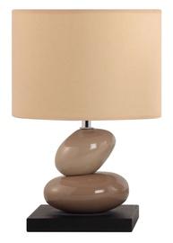 Galda lampa D3348A 40W E14, krēmkrāsas