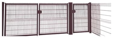 Sektsioonidega kaheleheline värav, 4000x1530mm
