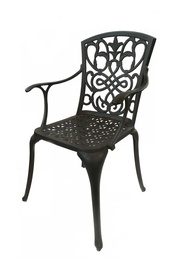 Metalinė lauko kėdė Rome