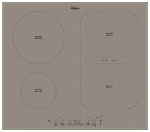 Iebūvējamā indukcijas sildvirsma Whirlpool ACM808/BA/S 58x51x5,6cm, 7200W