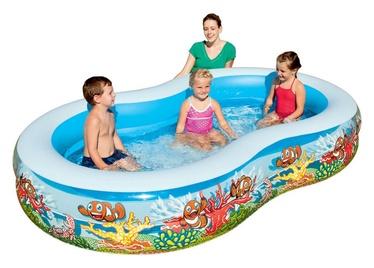 Pripučiamasis vaikiškas baseinas Intex Play Box, 262 x 150 x 46 cm