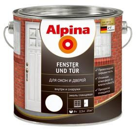 Dažai Alpina, FENSTER UND TUER, langų, 2,5 l