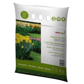 Pavasara mēslojums zālienam Baltic Agro, 7,5kg