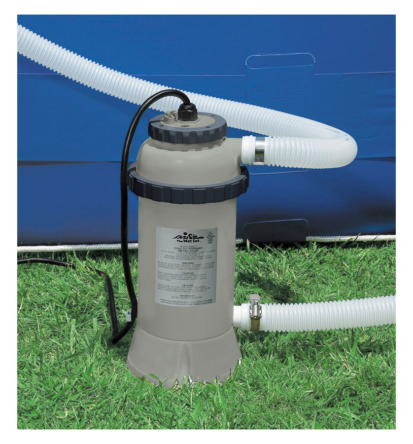 Baseino vandens ildytuvas intex for Chauffage piscine intex