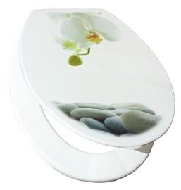 "Unitazo dangtis ""Karo-Plast"" Bali 16216 Orchidėja"