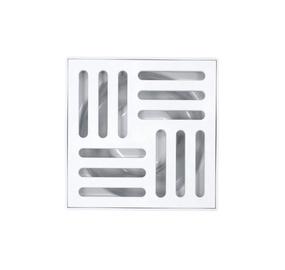 Sausas, vidinis grindų trapas Aniplast TQ5110, 50 mm, horizontalus