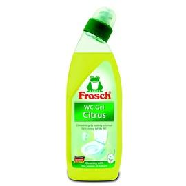 "Citrusinis gelis tualetų valymui ""Frosch"" WC-Gel Citrus"