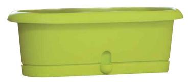 Rõdukast Lotos, roheline, plastik, D30