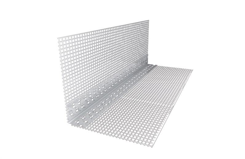 Plastnurk võrguga, 10x10 cm, 2,5 m