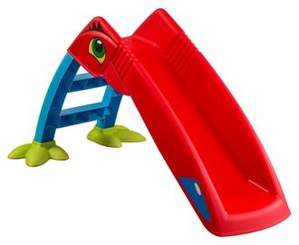 Plastikinė čiuožykla, raudona