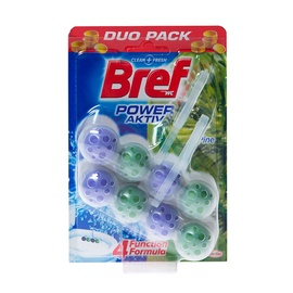"""Tualetų gaiviklis """"Bref"""" Power Active Pine 2 x 51 g"""