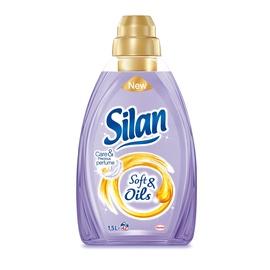 "Skalbinių minkštiklis ""Silan"" Soft & Oils Purple, 1,5 l"