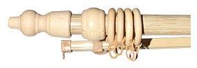 Kardinapuu komplekt Futura 180cm ø25, mänd