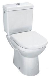 Tualetes pods WC Laufen, ar vāku 67x36x78cm, balts