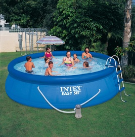 Pripučiamas baseinas Intex Easy Set, 457 x 107 cm, su priedais