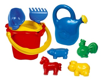 Smėlio žaislų rinkinys, 9 vnt