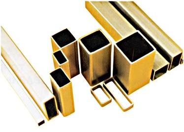 Nelikanttoru 15x25x2mm/2m, alumiinium