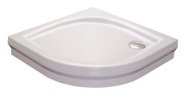 Dušo kabinos padėklas Ravak Elipso 90 PAN, 90x90x17,5 cm