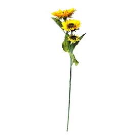 Dirbtinė gėlė saulėgrąža, 5 žiedai