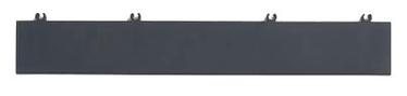 Kärgplaadi lõpetusliist Bergo, helehall, 4 tk