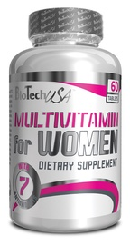 "MULTIVITAMINAI ""FOR WOMEN""; 60 TABLEČIŲ (BIOTECH)"