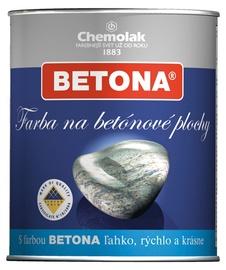 Betono paviršių dažai Chemolak pilki 2,5 l