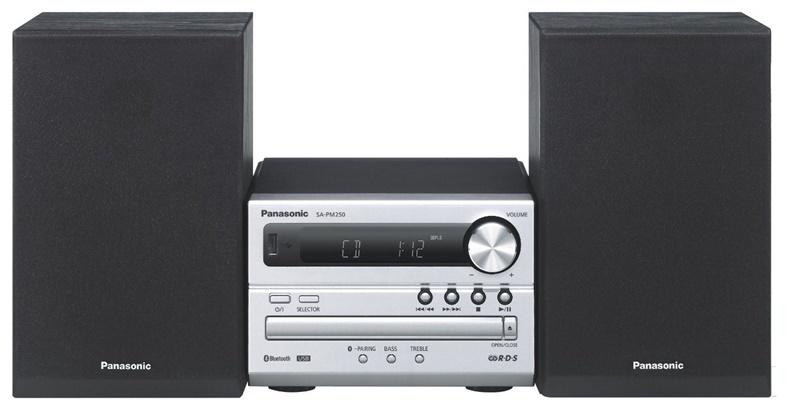 Muusikakeskus Panasonic SC-PM250EC-S