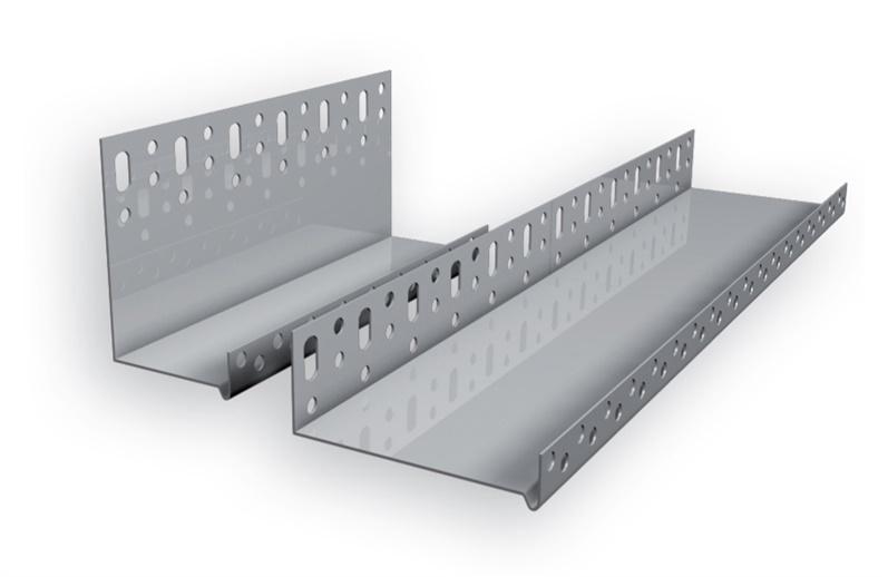Sokliprofiil alumiinium 203mm 2m 0,6mm