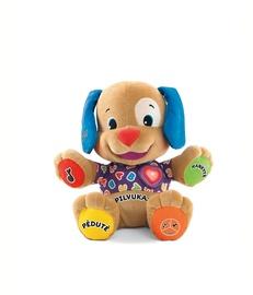 Žaislinis šuniukas su širdele