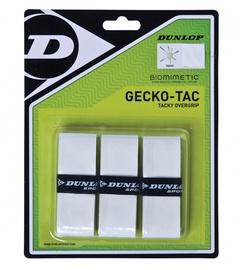 Raketės apvija Dunlop Gecko-Tac, balta, 3 vnt